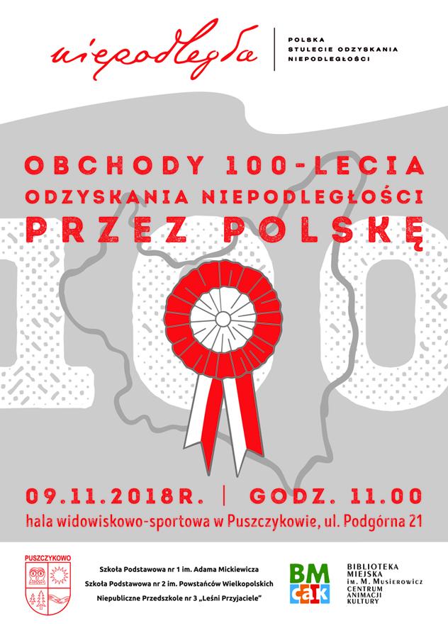 obchody w Puszczykowie - 9 listopada
