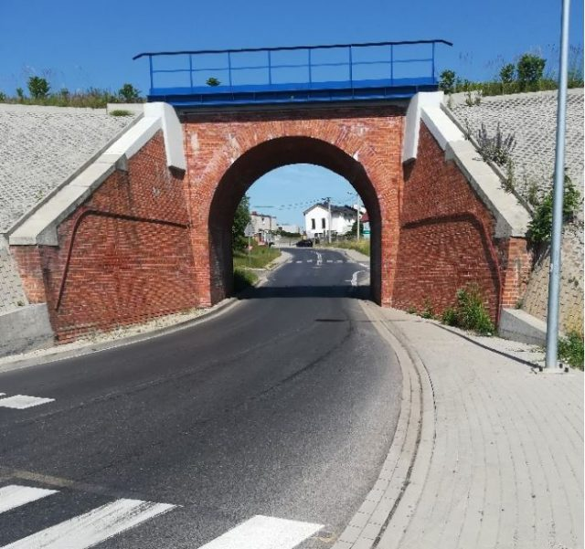 Niebezpieczne przejście dla pieszych na ulicy Krętej w Luboniu