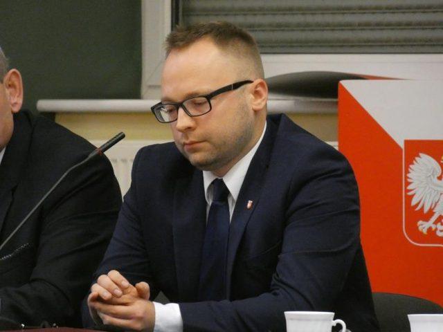 Dominik Michalak - Inauguracyjna sesja Rady Miejskiej fot. Joana Nowaczyk