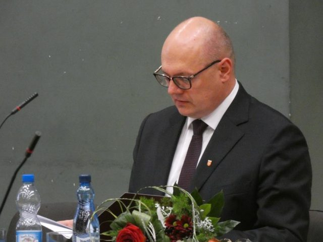 Przemysław Mieloch - Inauguracyjna sesja Rady Miejskiej