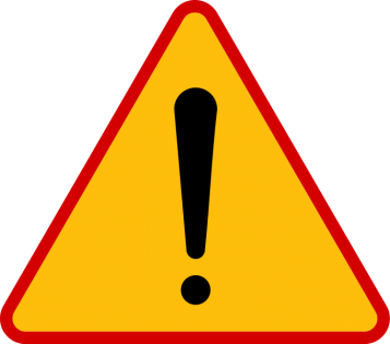 uwaga wypadek