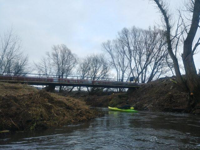 Kanał Mosiński - wodociągi - spływ kajakowy