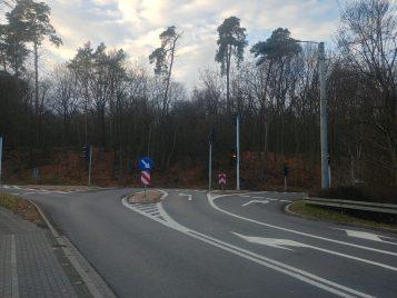 Niebezpieczna sygnalizacja w Puszczykowie