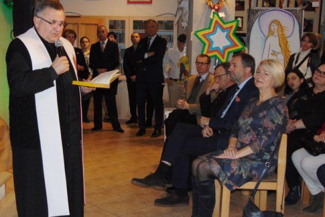 Marek Smyk, proboszcz parafii pw. św. Józefa Oblubieńca w Puszczykowie