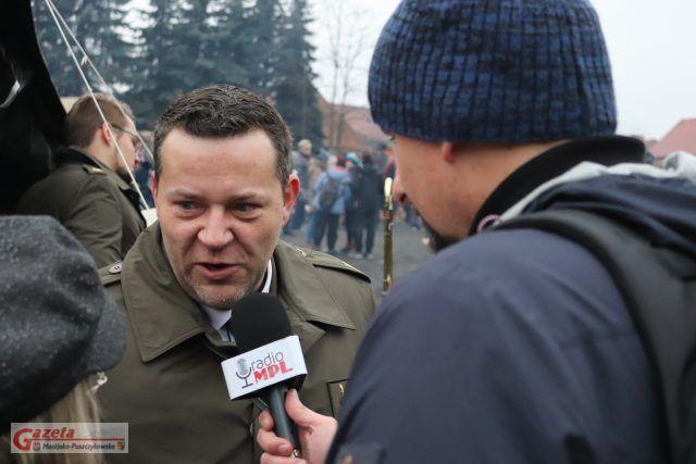 Wywiad w Radio MPL - Prezydenty RP Andrzej Duda z wizytą w Mosinie