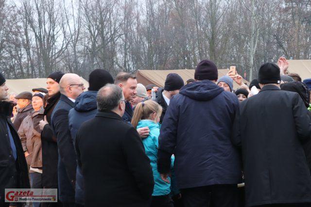 Prezydent RP Andrzej Duda z wizytą w Mosinie