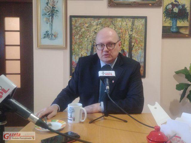 Przemysław Mieloch, burmistrz Mosiny