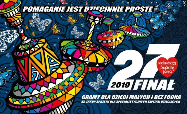 plakat WOŚP - 27 finał