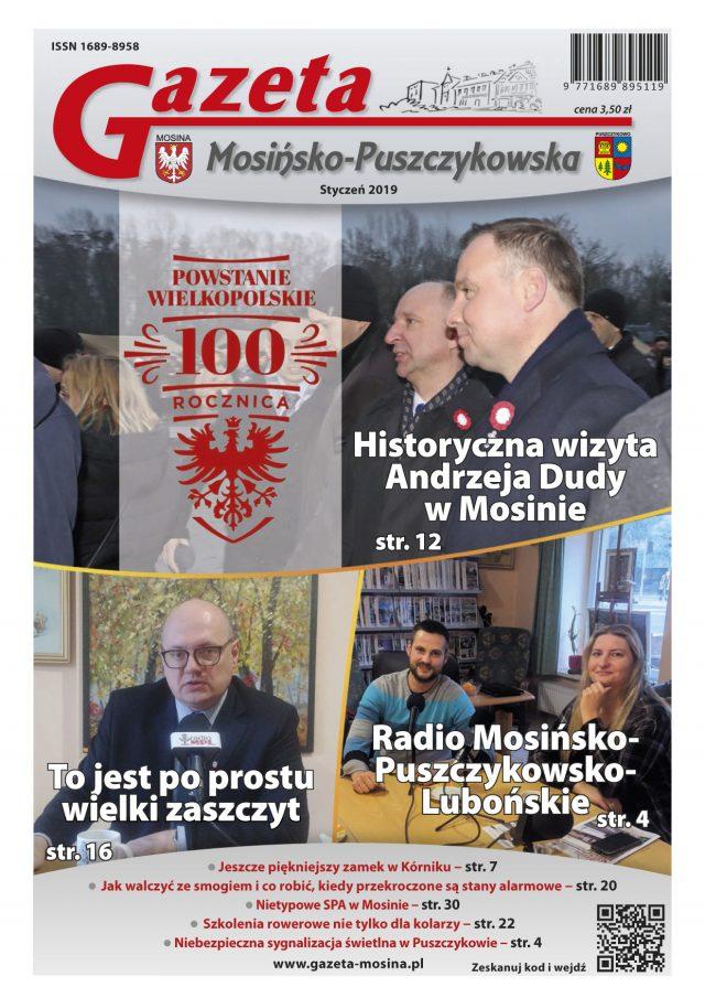 Wydanie Styczeń 2019 - Gazeta Mosińsko-Puszczykowska