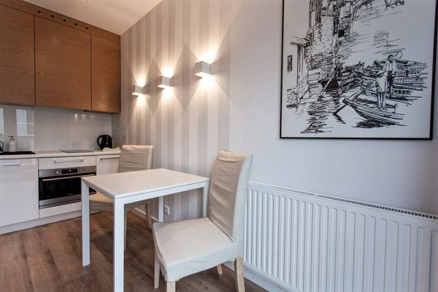 Apartament Luna - studio z wanną w ofercie aparthotelu Silver Apartamenty Wrocław