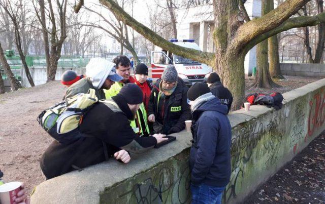 OSP Heavy Rescue SGRT Mosina: poszukiwania zaginionego Michała