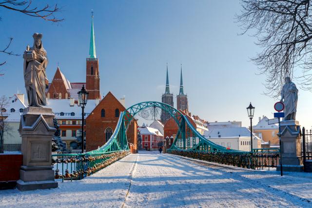 Ostrów Tumski we Wrocławiu - czy wiesz ile krasnali się tu chowa?