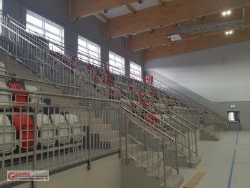 Hala widowiskowo-sportowa przy ul. Krasickiego w Mosinie