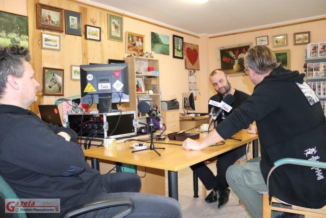 Michał Kleiber, Jędrzej Świerczyński i Piotr Milewski w Radio MPL