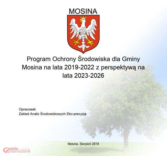 Program Ochrony Środowiska dla Gminy Mosina