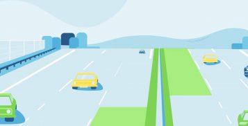 Rozbudowa autostrady A2 o trzeci pas - grafika