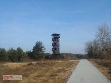 Pożegowo wieża widokowa, gmina Mosina