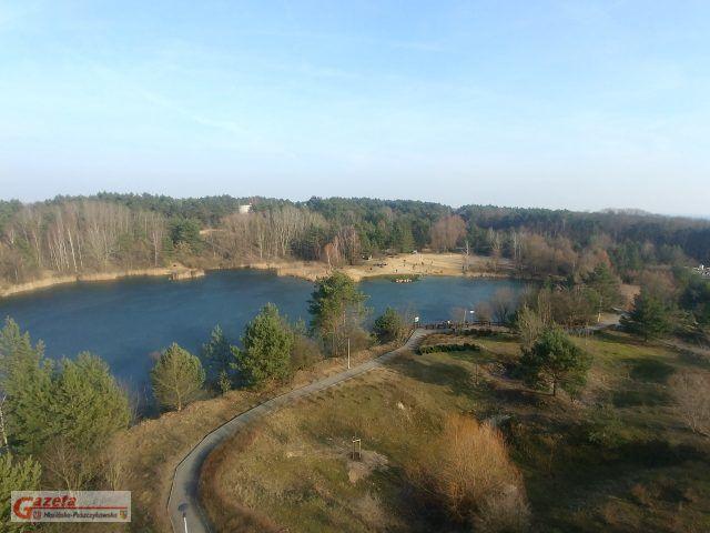 Glinianki na Pożegowie - widok z wieży widokowej