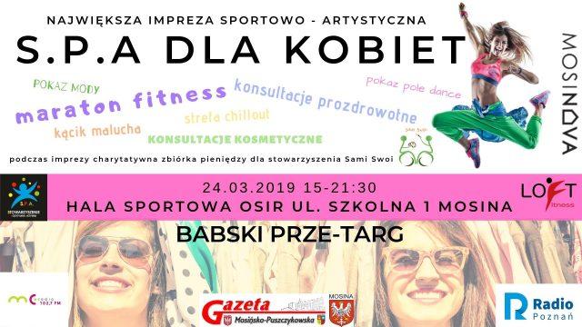 SPA dla kobiet - plakat
