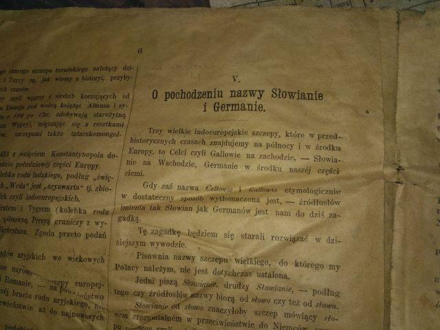O pochodzeniu nazwy Słowianie i Germanie