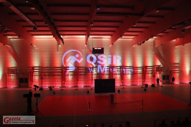 otwarcie hali widowiskowo-sportowej w Mosinie (OSiR)