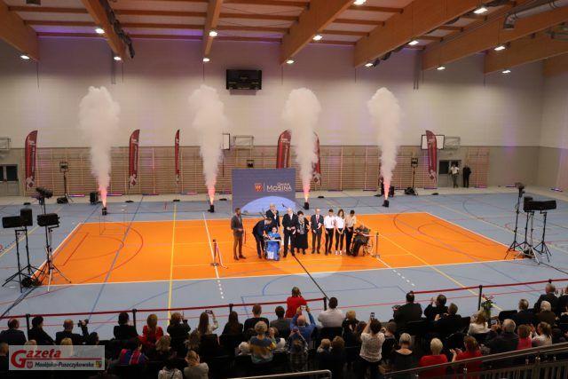 Otwarcie hali widowisko - sportowej na ul. Krasickiego w Mosinie
