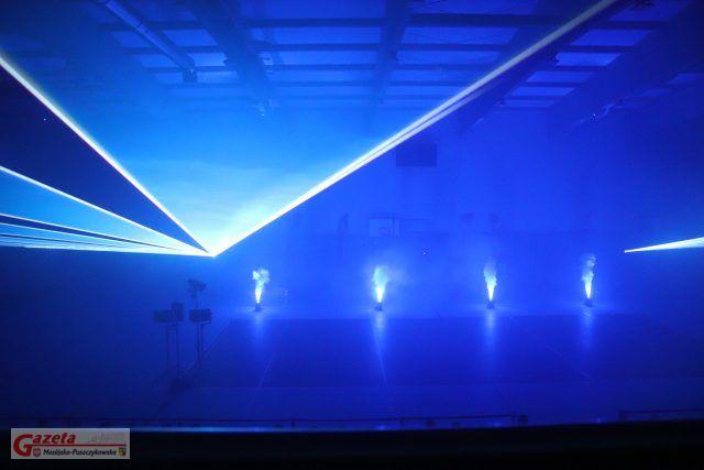 pokaz laserowy w wykonaniu Visual Sensation