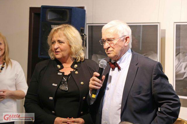 Dorota Strzelecka i Michał Grudziński