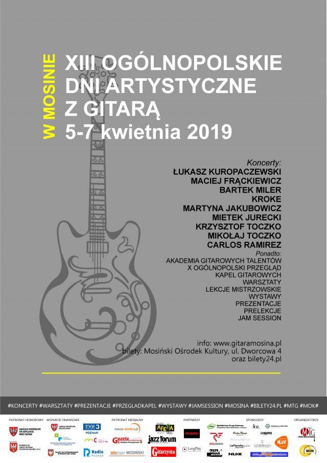 XIII Ogólnopolskie Dni Artystyczne z Gitarą 2019
