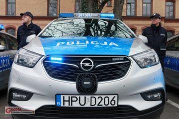 Radiowóz - policja Mosina