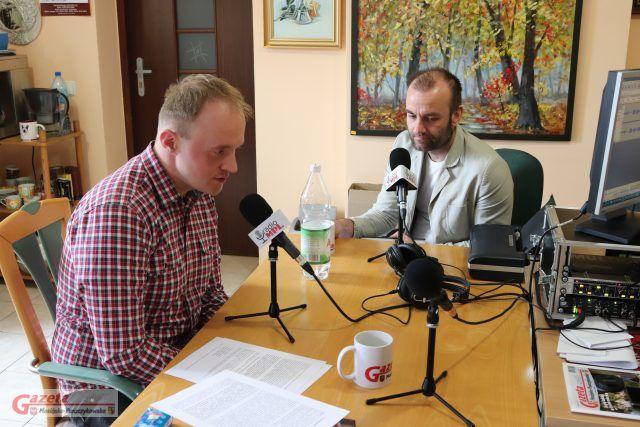 Wojciech Czeski w Piotr Milewski - audycja w Radio MPL