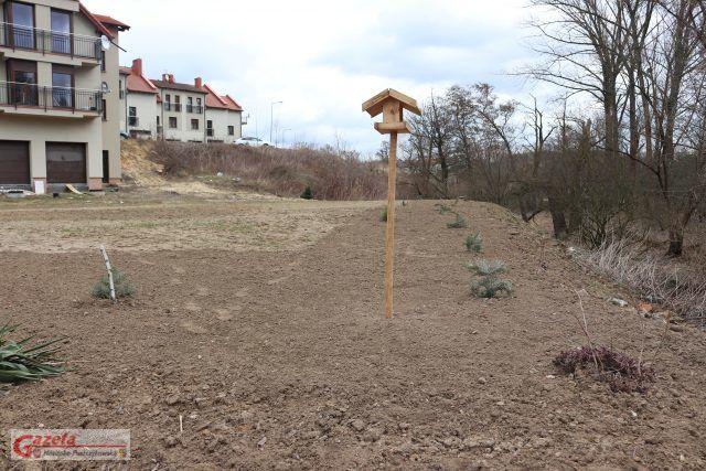 teren przygotowywany dla kajakarzy - osiedle Leśne w Czapurach