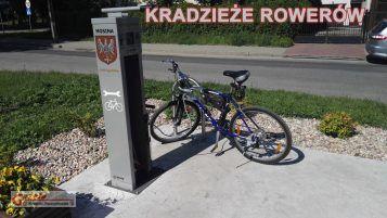 kradzieże rowerów - stacja rowerowa Mosina osiedle za Moreną