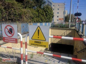 przejście podziemne przy ulicy Sowinieckiej w Mosinie