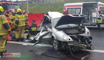 wypadek na A2 fot. Luboni.pl