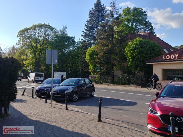 przystanek autobusowy przy ulicy Dworcowej w Puszczykowie