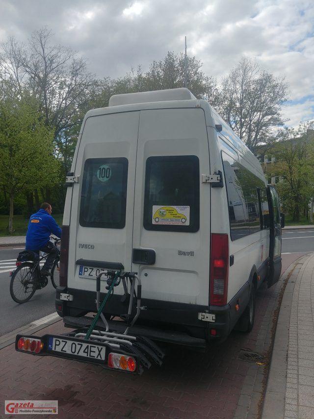 platforma do transportu rowerów (autobus ZUKu)