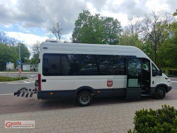 weekendowa linia autobusowa nr 671 z możliwością transportu rowerów