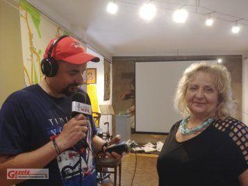 Wywiad z dyrekitr Galerii, Panią Dorotą Strzelecką