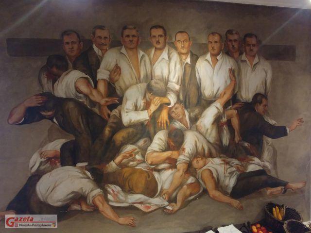 Galeria Sztuki w Mosine - rozstrzelani na rynku w Mosinie