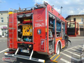 wóż strażacki OSP Pecna podczas Dni Mosiny