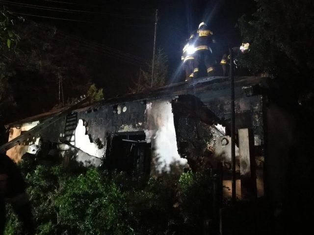 pożar w Rogalinku fot. Heavy Rescue SGRT OSP Mosina