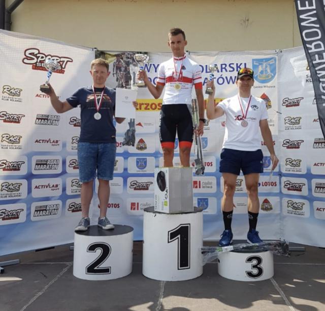 Adam Adamkiewicz JRG-9 Mosina na podium - Mistrz Polski Strażaków PSP