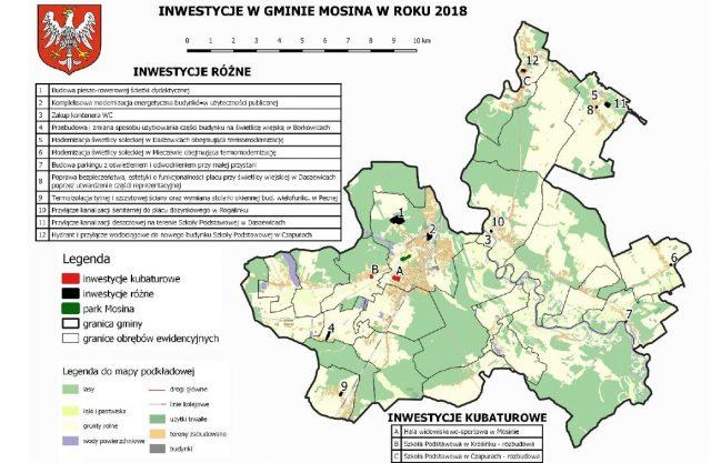 inwestycje w gminie Mosina