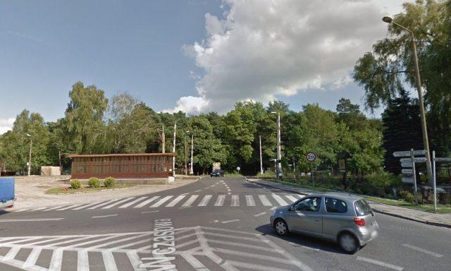 ul. Poznańska – przejazd kolejowy w Puszczykowie