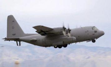 Samolot amerykańskich sił powietrznych EC-130H Compass Call