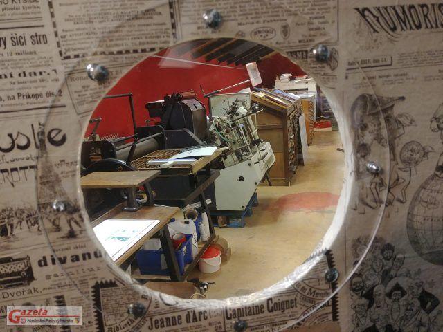 zabytkowa drukarnia