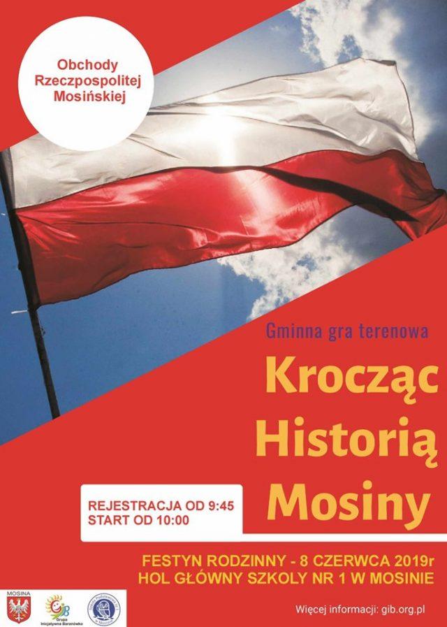 """GRA TERENOWA """"Krocząc Historią Mosiny"""""""
