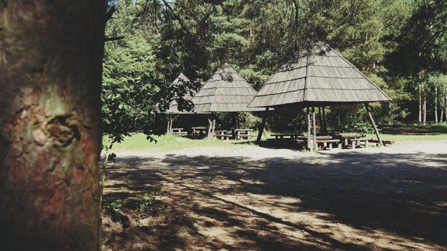 Wiaty - miejsce odpoczynku dla turystów