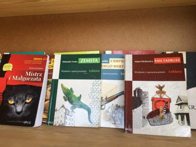 książkodzielnia na Zielonym Rynku w Mosinie - książki na wymianę